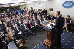 Obama discusses the sequester and tax loopholes
