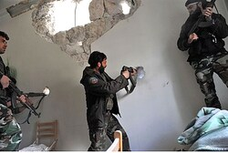 Rebels clash with Syrian government forces