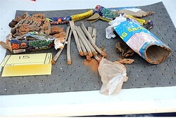 Explosives found in backpack disposed of by friends of Boston bomber