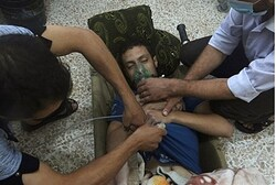 Victim in Syria