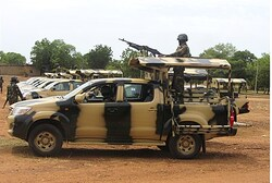 Soldiers from multinational force fighting Boko Haram in Nigeria