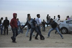 Rioters take part in Bedouin 'Day of Rage'