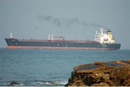 Crude oil tanker