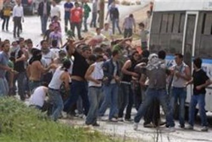 Riot near Jerusalem (archive)