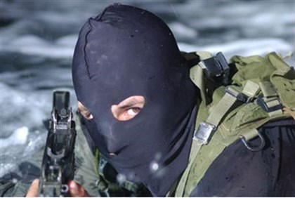 Navy commando boards Gaza-bound weapons ship