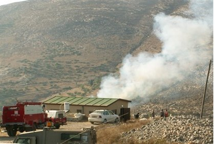 Arab arson in Samaria (archive)