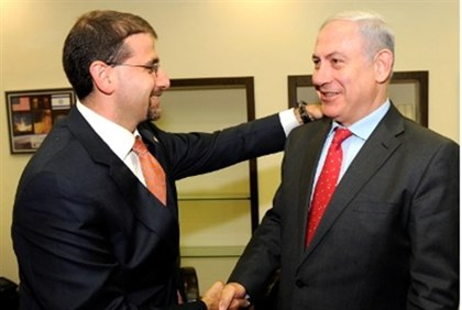 US Ambassador Dan Shapiro and PM Netanyahu
