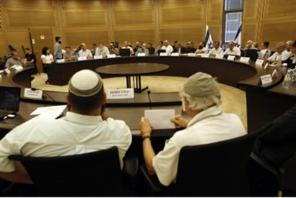 Nationalist MKs convene in Knesset, 2011