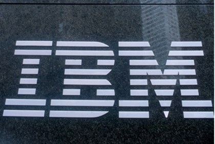 IBM logo, NYC