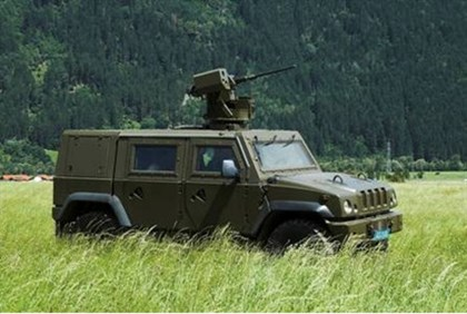 Elbit's vehicle mounted weapons system