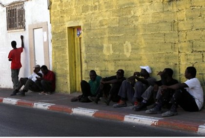 Illegal Immigrants in Ashkelon