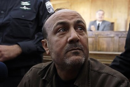 Terror Leader Barghouti Calls for New Uprising After 'Victory'