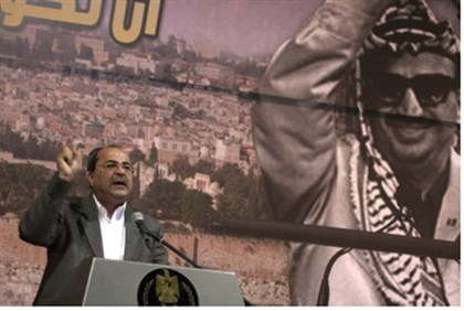 MK Ahmed Tibi commemoratates 7th anniversary of Yasser Arafat's death