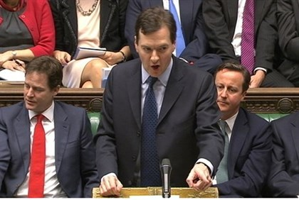 Osborne Presents Budget