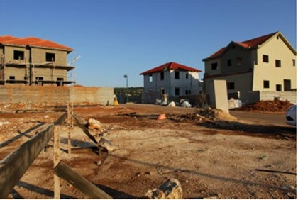 Construction in Neveh Menachem