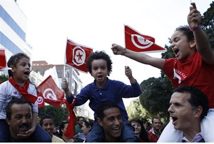 Rally in Tunis