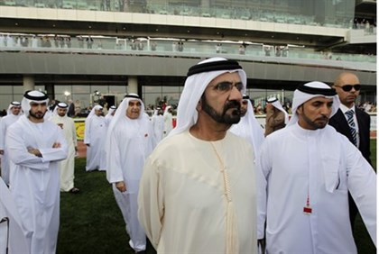 Dubai ruler, Vice-President and Prime Minister of the UAE Sheikh Mohammed bin Rashid Al Maktoum