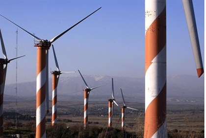Wind turbines on the Golan -- Is oil next?
