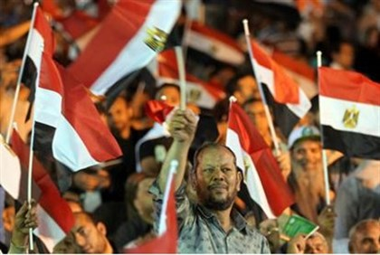 Rally for Muslim Brotherhood presidential candidate
