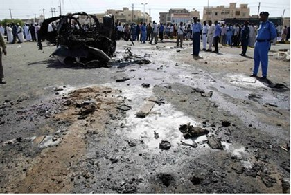 Port Sudan explosion (file)
