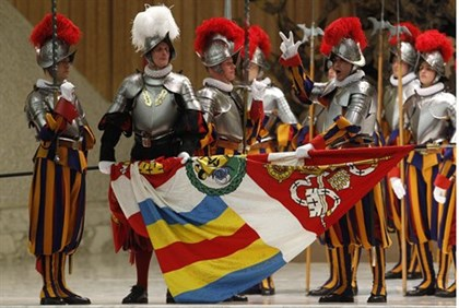 Vatican Swiss Guards