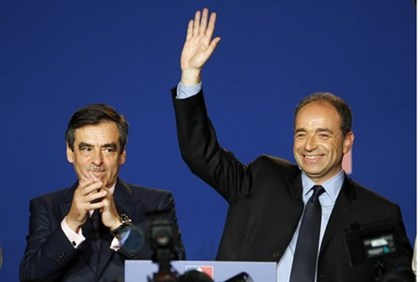 Fillon (l) and Cope