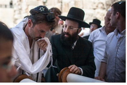 David Arquette, Rabbi S. Rabinowitz