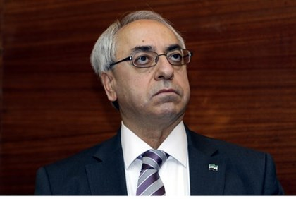 Abdul Basit Sida, head of Syrian National Council