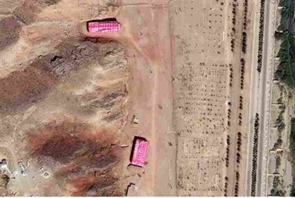 Aerial view of Parchin site