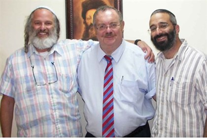 Minister Hershkowitz (middle) & Aliyah Fever