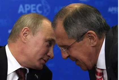 Lavrov and boss
