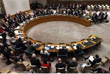 UN Security Council meeting