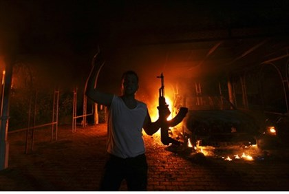 Sept. 11, 2012 Benghazi attack (file)