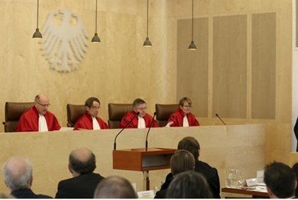 German Interior minister appeals to constitutional court judges