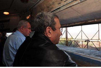 Barak and Netanyahu overlook Syria