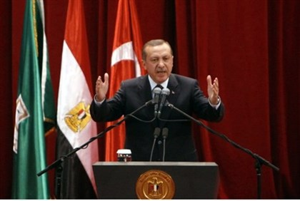 Erdogan at Cairo University