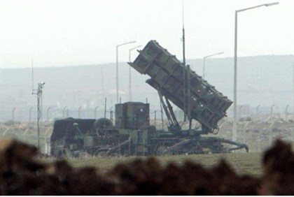 Patriot anti-missile launchers in Turkey in 2003