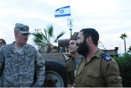 US-Israel joint military exercise