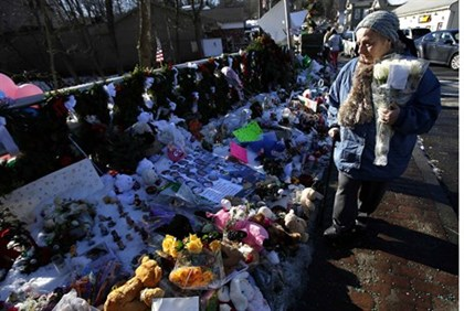 A school shooting in Newtown sparked wide-felt reactions