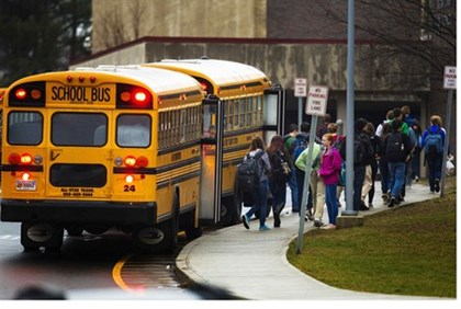 The school bus drivers union is threatening to strike