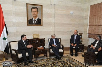 Syrian and Iranian officials meet in Damascus on security