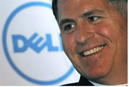 Dell Inc. founder and chief executive Michael Dell