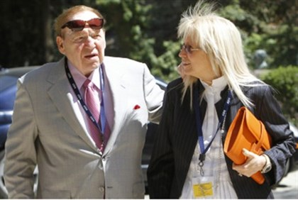 Sheldon and Miriam Adelson