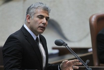 Yair Lapid in Knesset