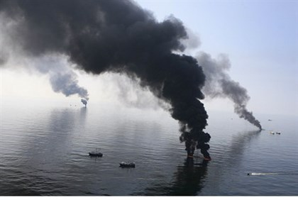 the 2010 oil spill in the Gulf of Mexico devastated the region