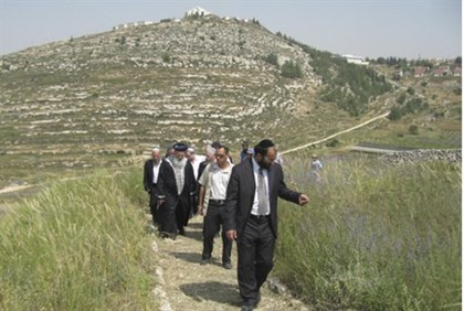 The hills of Samaria (Shomron)