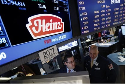 Insider trading is suspected in the buyout of HJ Heinz.
