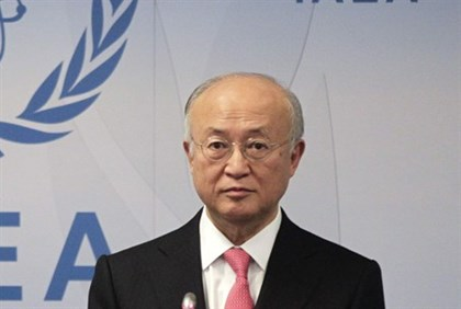 International Atomic Energy Agency Director General Yukiya Amano