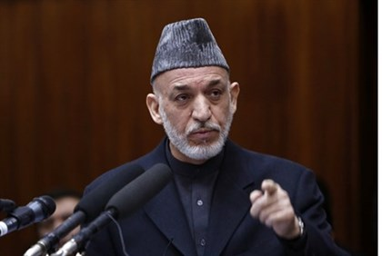 Afghan President Hamid Karzai ratcheted up his criticism of the US