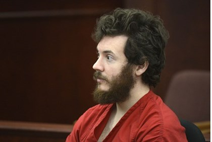 Accused Aurora theater shooting suspect James Holmes at his arraignment